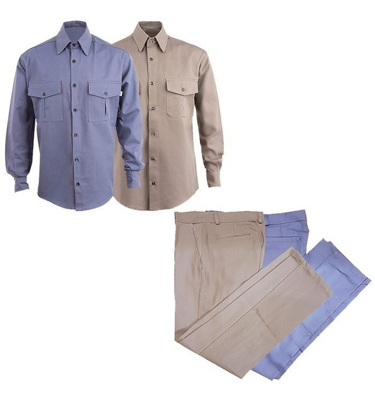 Kit Camisa Y Pantalon De Trabajo Seguridad Oferta