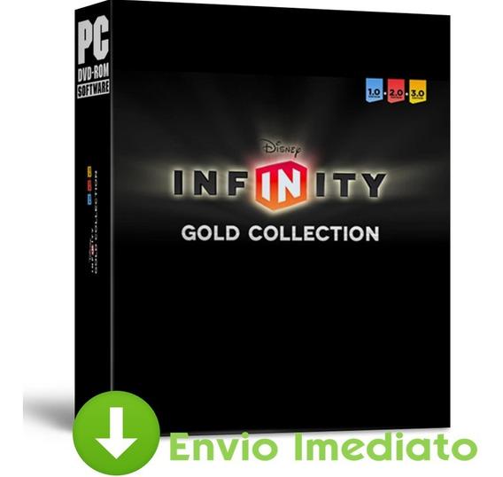 Disney Infinity: Gold Collection 1.0 2.0 3.0 Português Pc