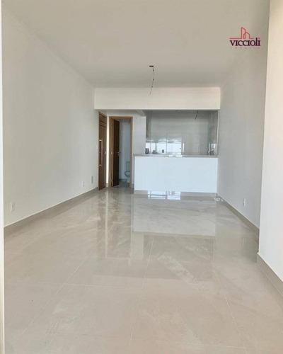 Apartamento Com 2 Dormitórios À Venda, 107 M² Por R$ 698.000,00 - Canto Do Forte - Praia Grande/sp - Ap1982