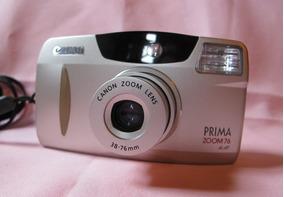 Camera Canon Autofocus Zoom 38-76 Impecavel + Bateria Nova