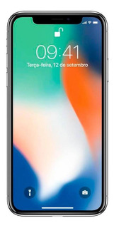 iPhone X 256gb Usado Seminovo Prateado Excelente