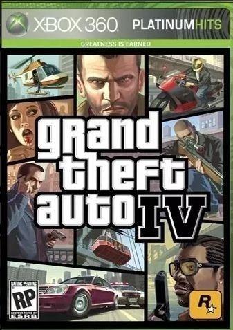 Grand Theft Auto Iv Platinum Hits Gta Iv Mídia Física Novo