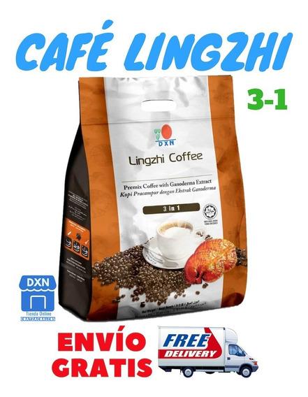 Dxn Café Orgánico Con Ganoderma Lingzhi 3-1 Envío Gratis