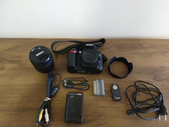Nikon D90 5k Pouco Usada! Venda Urgente!