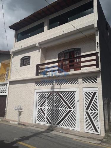 Sobrado Com 4 Dormitórios À Venda, 300 M² Por R$ 1.100.000,00 - Vila Porto - Barueri/sp - So1734