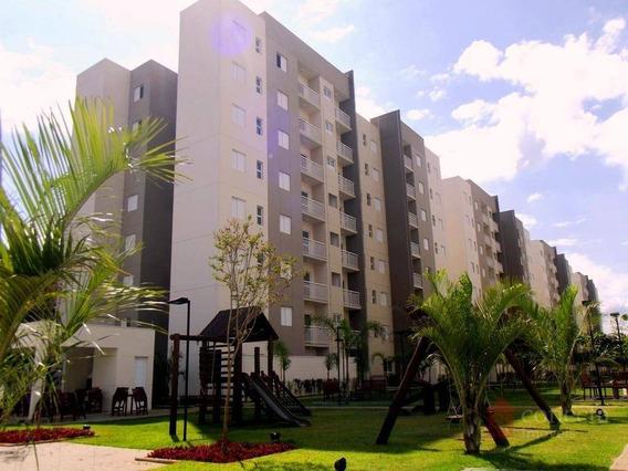 Apartamento Com 3 Dormitórios À Venda, 88 M² Por R$ 420.000,00 - Residencial Premiere Morumbi - Paulínia/sp - Ap0347