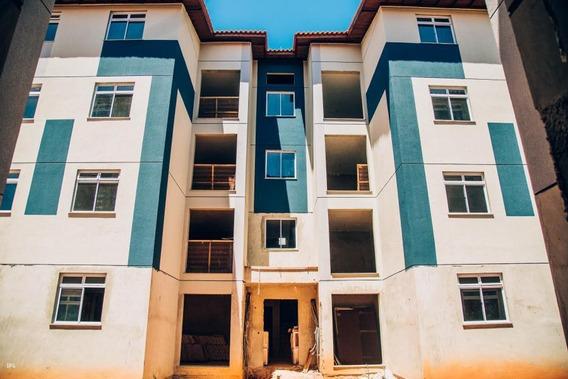 Apartamento Para Venda Em Ponta Grossa, Uvaranas, 2 Dormitórios, 1 Banheiro, 1 Vaga - Vidanova2_1-1059663