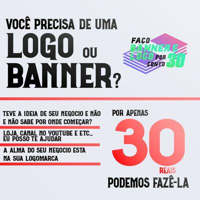 Logomarca E Banner Por 30 Reais