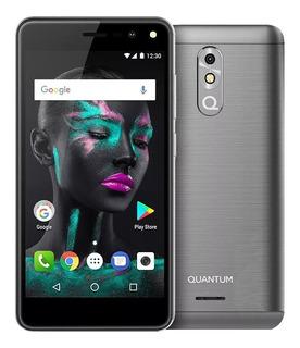 Celular Libre 4g Quantum Fit 16gb Quad-core Android 7 Refurb
