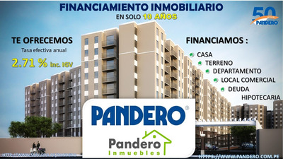 Financiamiento Inmobiliario.