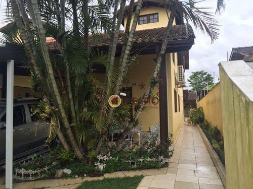 Sobrado Com 3 Dormitórios À Venda, 300 M² Por R$ 690.000 - Vila Agao Ii - Bertioga/sp - So0664