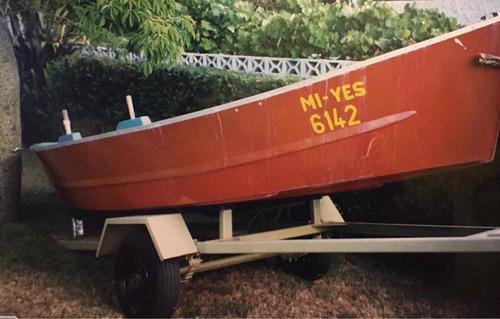 Chalana Con Motor
