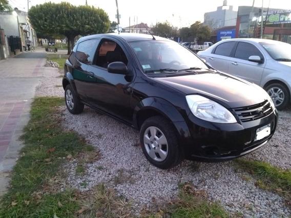 Ford Ka 1.0 Con Aire Y Dirección Muy Lindo Natanael