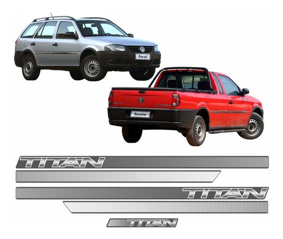 Adesivo Faixa Volkswagen Saveiro Parati Titan 2008 Dx09