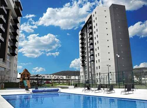 Lomelin Br | Departamento Amueblado | 3 Habitaciones + Balcon | Habitarea Towers Juriquilla | Departamento En Renta