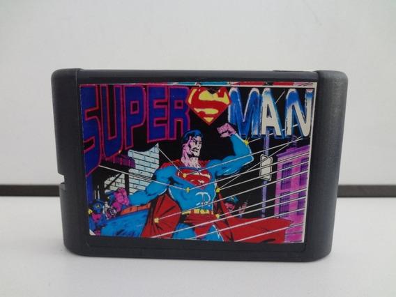 Fita De Mega Drive - Superman (trekus Vintage)