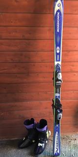 Ski Para Hombre Con Fijaciones