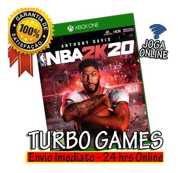 Nba 2k20 Mídia Digital Xbox One + 2 Jogos Brindes