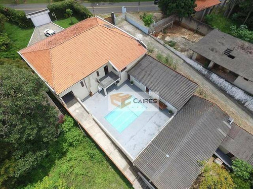 Casa Com 3 Dormitórios À Venda, 2870 M² Por R$ 2.100.000,00 - Parque Jatibaia (sousas) - Campinas/sp - Ca3084