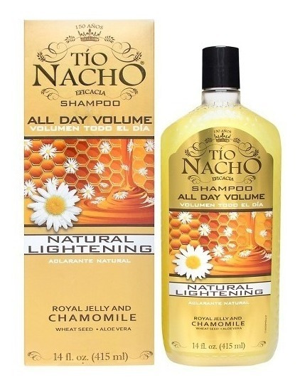 Tio Nacho Shampo Aclarante X 415ml Magistral Lacroze