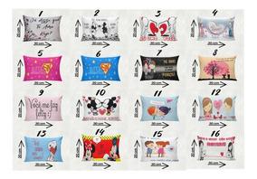 10 Mini Almofadas Lembrançinha Dia Dos Namorados-tam30x20cm