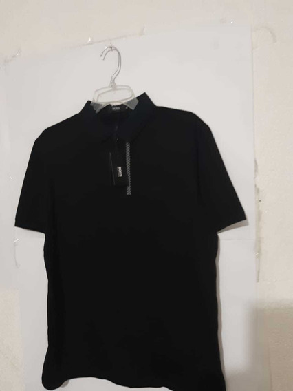 Playera Polo Hugo Boss Black