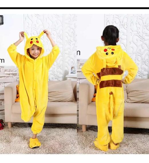 Pijama Mameluco Pikachu Talla 8