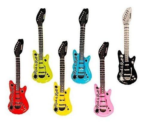 Guitarras Eléctricas Inflable Rock 'n Roll De Canguro,