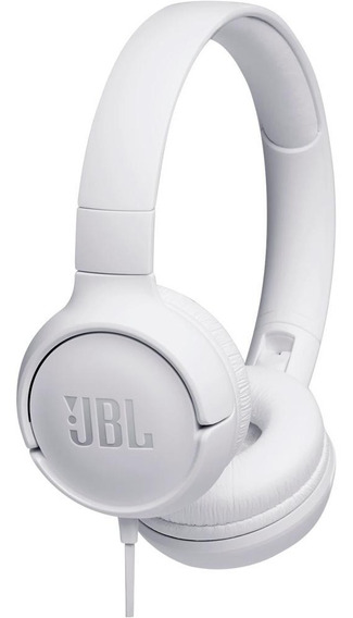 Fone Ouvido Jbl T500 Tune Branco Nota Fiscal Garantia