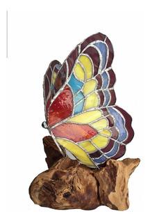 Lampara Vitral Moderna De Mariposa Para Recamara Tocador