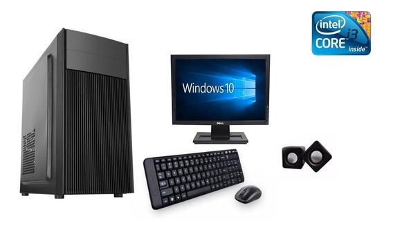 I3 4gb 500hd + Monitor + Teclado E Mouse Win 10