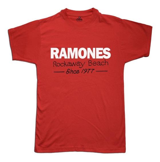 Remeras Ramones Joey Deedee Tommy Johnny Mujer Hombre