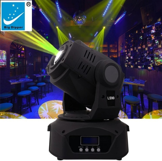 4 Moving Head Led (90w) Big Dipper + 2 Case