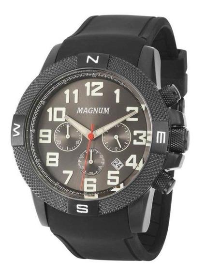 Relógio Masculino Magnum Analógico Ma34861g - Preto