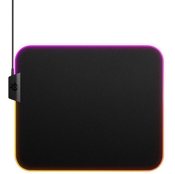 Mousepad Rgb Steelseries Qck Prism Cloth Medium Stl-63825 320x270x4mm