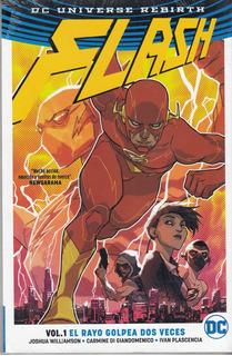 Comic Universe Rebirth Flash Volumen 1 El Rayo Golpea Dos