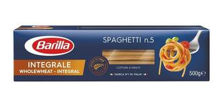 Fideos Italianos Barilla Integral Spaghet 500g E.gratis Caba
