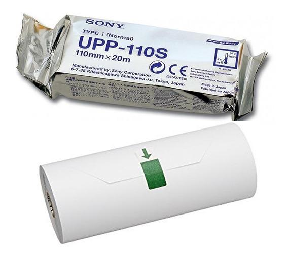 10 Rolos Papel Upp-110s Sony Para Video Printer Sony Upp