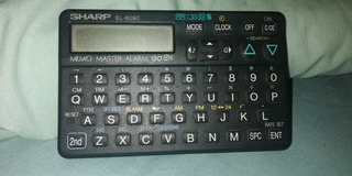 Calculadora Agenda Electronica Sharp El-6090