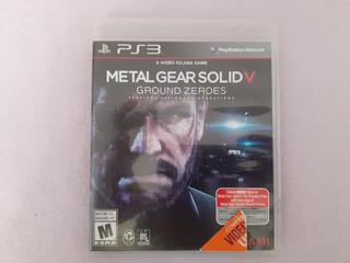Metal Gear Solid V Ground Zeroes Original Para Ps3