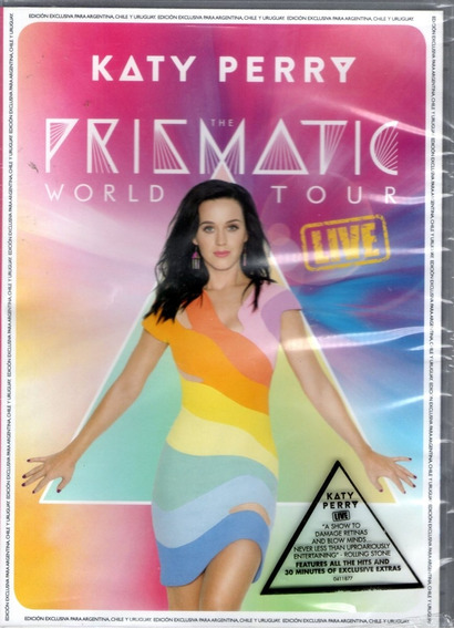 Dvd Katy Perry The Prismatic World Tour En Stock Musicanoba