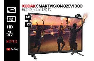 Smart Tv Led Kodak 32sv1000 Con Defecto De Caja Y Estético