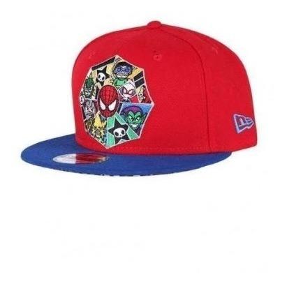 Gorra Snapback Spiderman Rojo