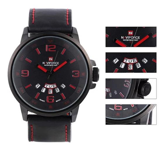 Relógio Naviforce Masculino Luxo Esportivo Original Barato