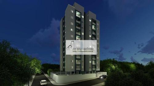 Apartamento Com 2 Dormitórios À Venda, 59 M² Por R$ 229.900,00 - Vila Carvalho - Sorocaba/sp - Ap1108