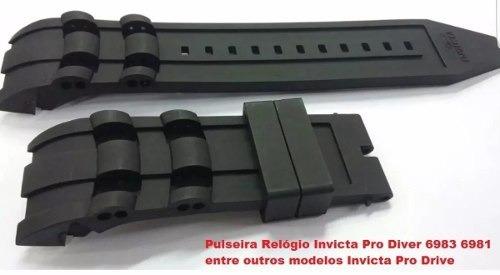 Pulseira Para Invicta 17882 17883 17884 17885 17886 17887