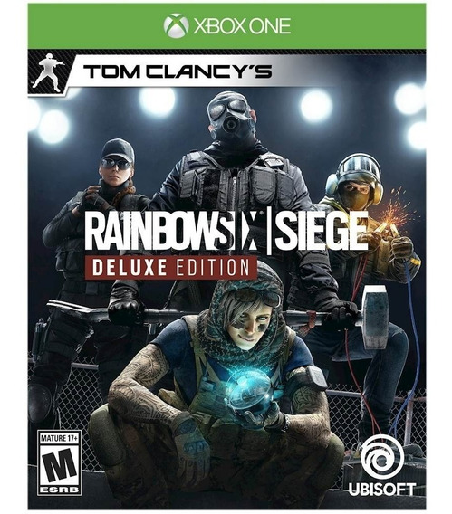 Rainbow Six Siege Deluxe Edition Xbox One Código 25 Dígitos