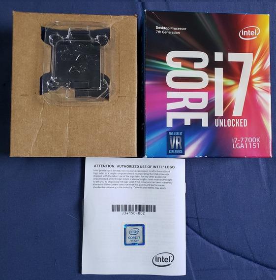 Caixa Processador Core I7 7700k Lga 1151 Com Blister
