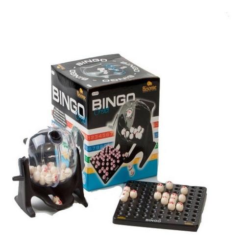 Bingo Familiar Con Bolillero Cristal 90 Num 48 Cart Ar1 9919