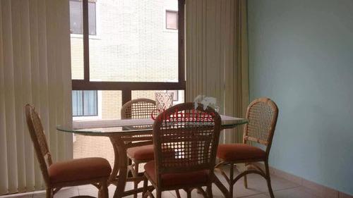 Apartamento Com 3 Dormitórios À Venda, 68 M² Por R$ 415.000 - Embaré - Santos/sp - Ap0338